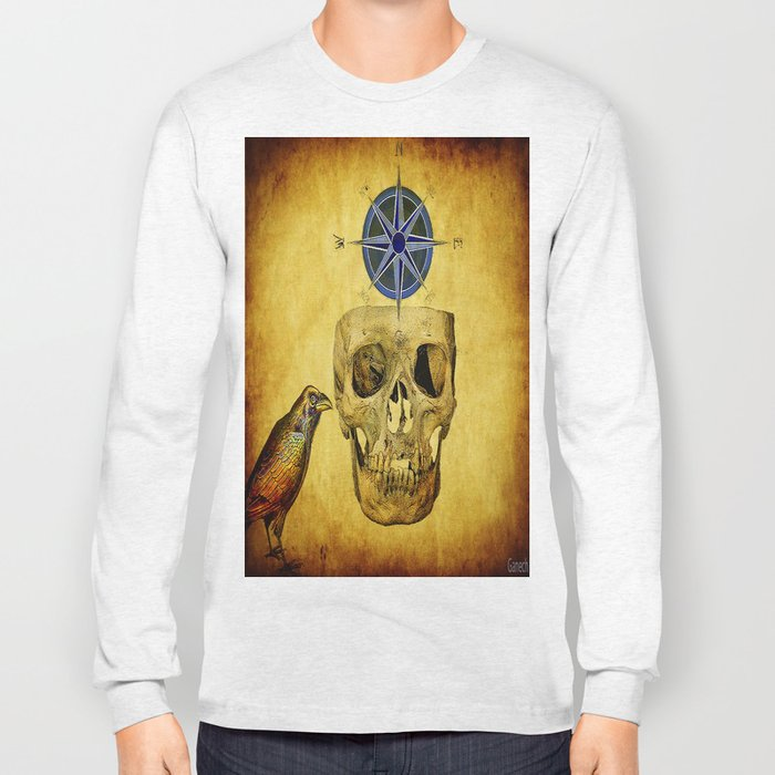The crane compass Long Sleeve T-shirt