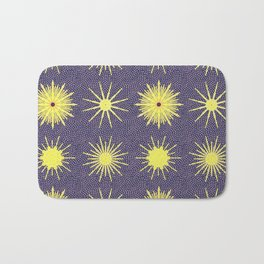 Starry Night Sky Bath Mat