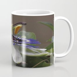 Side View of Beautiful Passiflora Flower Coffee Mug