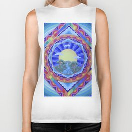 Beautiful World Mandala Biker Tank