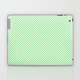 light green merci stripe Laptop & iPad Skin