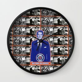 Drug War History Wall Clock
