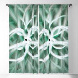 Azur Blossom Blackout Curtain