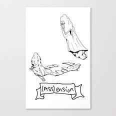 (Ass) ension Canvas Print