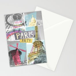 Paris Arty Stationery Cards