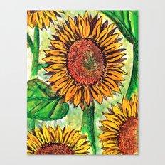 Keep Up Buttercup Canvas Print
