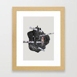 Trees Rocks pt. 3 Framed Art Print