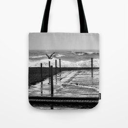 STORMY WEATHER BRIGHTON UK Tote Bag