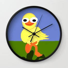 Whacky Bird Wall Clock