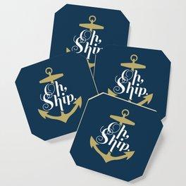Oh Ship Coaster
