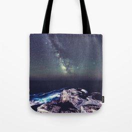 Galactic Shoreline Tote Bag