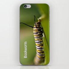 Bookworm - Monarch Caterpillar Larvae iPhone & iPod Skin