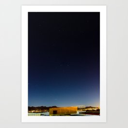Shoot for the Stars Art Print