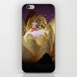 Waterlily Fairy iPhone Skin