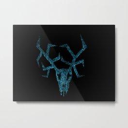 Wendigo ice blue Metal Print