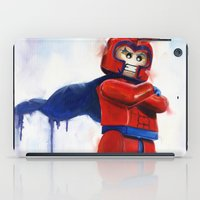 magneto iPad Cases featuring Magneto Lego by Toys 'R' Art