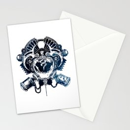ZAUN Crest - League of Legends Stationery Cards
