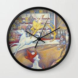 Georges Seurat artwork - The Circus Wall Clock