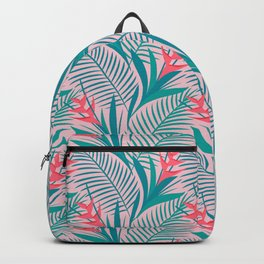 Tropical Flowers - Pink Backpack
