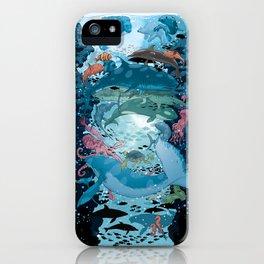 Aquatic Life iPhone Case