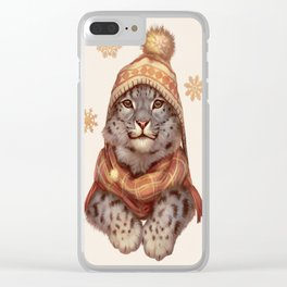 Beanie Weather Clear iPhone Case