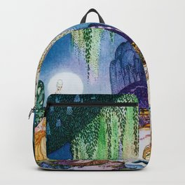 Kay Nielsen - Felicia Looks At The Queen Of The Forest Backpack