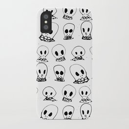 spooky bones iPhone Case