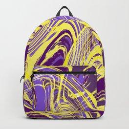 Yellow and Purple Dancing the Tango Backpack