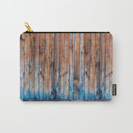 Old Wood Door Carry-All Pouch
