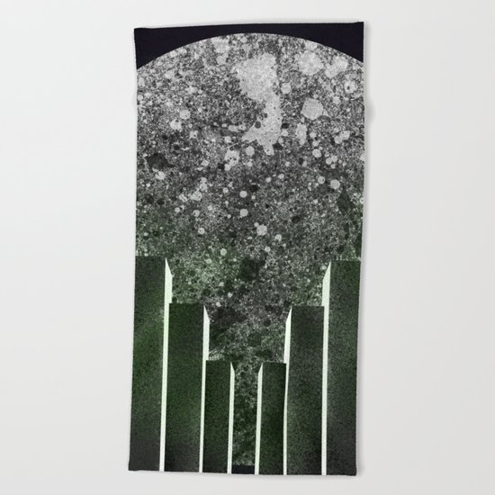 City Moon Beach Towel