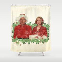 Bob & Betty (White Christmas) Shower Curtain