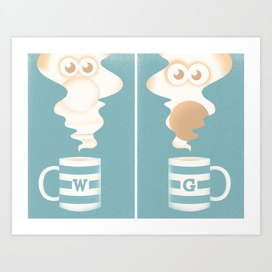 W & G Art Print