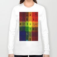 matrix Long Sleeve T-shirts featuring Abdon Matrix by RingWaveArt