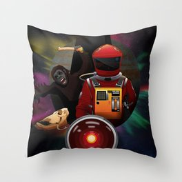 2001: A Space Odyssey T-Shirt Throw Pillow