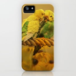 Love Byrds iPhone Case