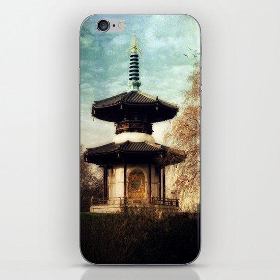 Peace Pagoda iPhone & iPod Skin