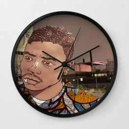 Caine Baee Wall Clock
