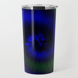 TIE DYE #1 (Blues & Greens) Travel Mug