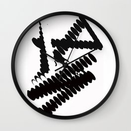 Sporty Lady Wall Clock