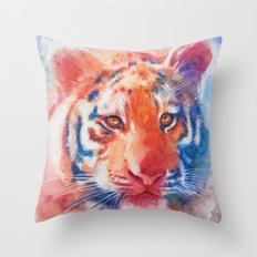 Staring into your soul Throw Pillow