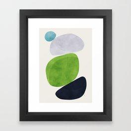 Balance V Framed Art Print