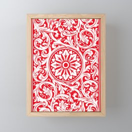 Playing Card (Red Back) Framed Mini Art Print