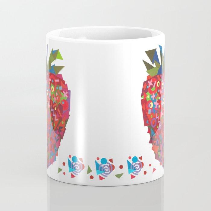Strawberry (Fraise) Coffee Mug
