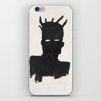 basquiat iPhone & iPod Skins featuring Basquiat by Peter Adels