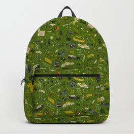 Moonrise Kingdom Plot Pattern Backpack