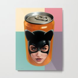 KITTY CAN 2 Metal Print