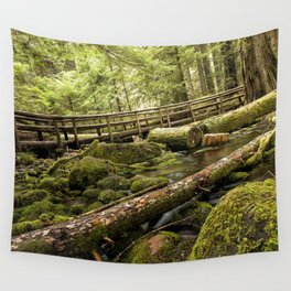 McKenzie River Trail No 1 Wall Tapestry