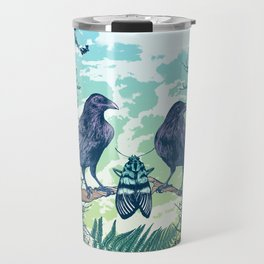 Nature's Skull Travel Mug