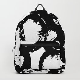 Dance Black and White Backpack