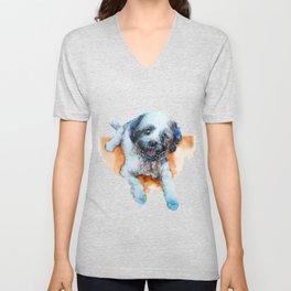 DOG#17 Unisex V-Neck